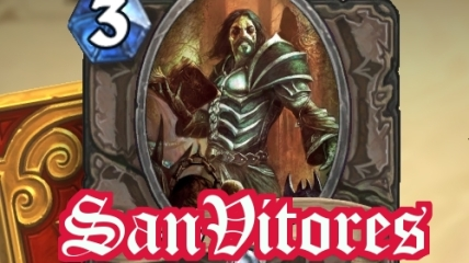 San Vitores - Acolyte of Pain