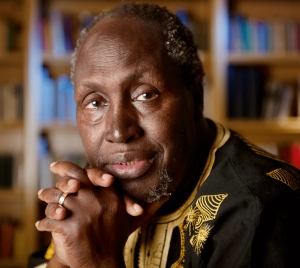 Kenyan author Ngugi wa ThiongÕo, Distinguished Professor of English and comparative literature at UC Irvine, is on the short list for the 2010 Nobel Prize in literature, for xxx(add phrase or blurb here from award announcement;  Chancellor quote? Christine writing and getting approved quote). Ngugi, whose name is pronounced ÒGoogyÓ and means Òwork,Ó is a prolific writer of novels, plays, essays and childrenÕs literature. Many of these have skewered the harsh sociopolitical conditions of post-Colonial Kenya, where he was born, imprisoned by the government and forced into exile. His recent works have been among his most highly acclaimed and include what some consider his finest novel, ÒMurogi wa KagogoÓ (ÒWizard of the CrowÓ), a sweeping 2006 satire about globalization that he wrote in his native Gikuyu language. In his 2009 book ÒSomething Torn & New: An African Renaissance,Ó Ngugi argues that a resurgence of African languages is necessary to the restoration of African wholeness. ÒI use the novel form to explore issues of wealth, power and values in society and how their production and organization in society impinge on the quality of a peopleÕs spiritual life,Ó he has said.