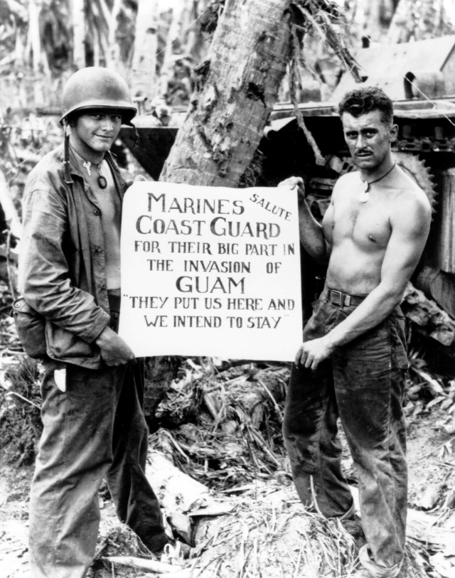 Coast_Guard_Marines_at_Guam_-_ca._July_1944