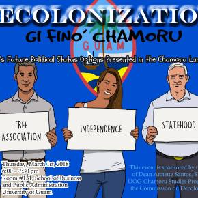 CHamoru-Language Panel on Decolonization